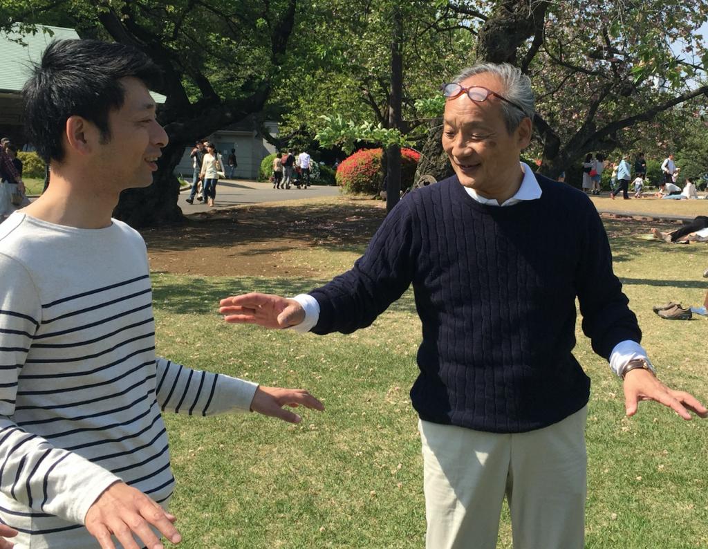 福田ゴンベイマインドフルネス気功体験ツアー立禅瞑想