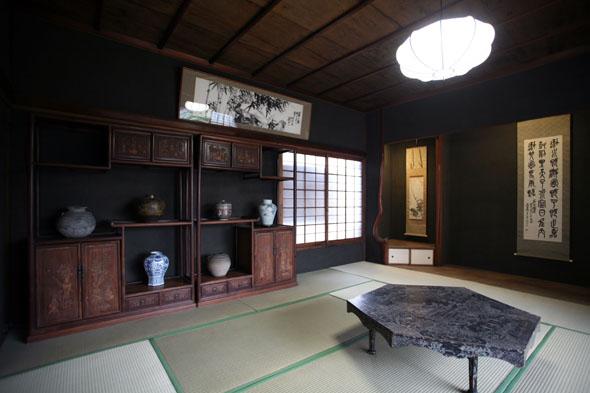 朝倉彫刻館和室